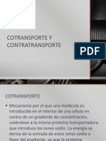 Cotransporte y Contratransporte 1