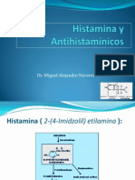 Histamina y Antihistaminicos
