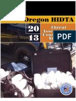 2013 Oregon HIDTA Threat Assessment Final 062112