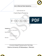 DSP Lab Manual2