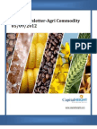Daily AgriCommodity Newsletter 05-09-2012