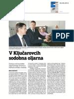 V Kljucarovcih sodobna oljarna - Večer - 5.9.12
