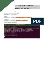 Instalando NetBeans IDE 7.1.2 en Ubuntu 12.04 - CiberLinux1.4