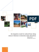 2010 01 Model for Cultural Flows - Synexe White Paper