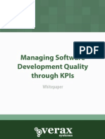 Managing Sw Development Quality Through Kpis