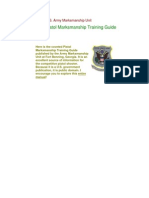 US Army Pistol Marksmanship Training Guide