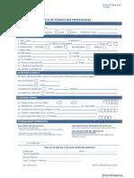 Formulario de Solicitud de Infotepnovirtual