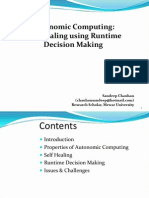 Autonomic Computing Runtime Decision Making