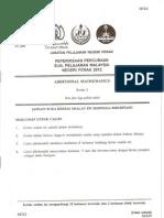 Trial Additional Matematics Spm Perak 2012 Paper 2