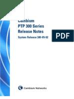 Cambium PTP 300 Series 05-02 Release Note