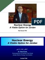 Nuclear Energy a Viable Option for Jordan NX