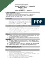 EE423 Syllabus Teaching Plan Spring 2012G