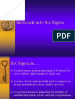Six Sigma Intro Jan 2005