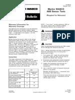 Webco ABS Sensor Tests