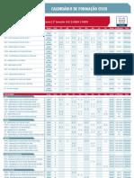 Calendario Cisco 2sem2012