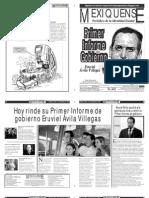 Versión impresa del periódico El mexiquense 5 septiembre 2012