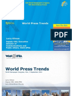 WAN IFRA - Larry Kilman World Press Trends September 2012