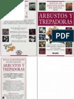 Botanica Jardineria Libro Guia Arbustos y Trepadoras Royal H Society Blume