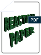 reaction paper about a senate s visit Writing a reaction or response essay: organizing your reaction paper a reaction/response paper has an introduction, a body, and a conclusion the introduction should contain all the basic information in one or two paragraphs sentence 1.