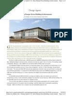 USACE, International LEED & Passivhaus Green Acheivements