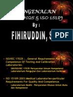 Pen Gen Alan ISO 17025 & ISO 15189