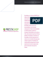PrestaShop Feature List Es