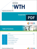 China Oil & Gas Corporate Presentation