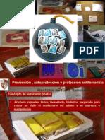 Proteccion Antiterrorista - Terrorismo Postal-2012 MLG