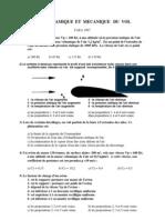 CAEA Aerodynamique Et Mecanique Du Vol 1997
