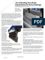 The Art of Bending - Press Brake Tooling Solutions for Every Challenge - By Jeff Paulson - Marketing Manager- Wilson Tool International