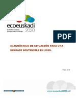 Eco Euskadi 2020. Diagnóstico de situación para una Euskadi sostenible en 2020