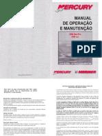 Manual de Proprietario Do Motor de Popa Mercury 25HP Seapro A