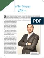 van+ paros dergisinde