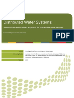 Distributed Water System