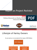 1st Report on Project Rockstar