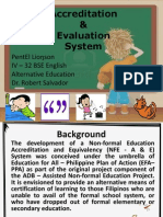 ALS Accreditation & Evaluation System