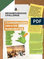 Final report on Manchester ChangeMakers Neighbourhood Challenge
