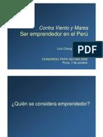 Ser Emprendedor en El Peru