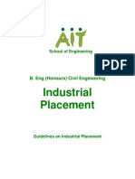 Industrial Placement Guidelines 2010 b