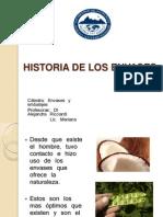 Historia de Los Envases