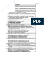 Tabela de Cfop