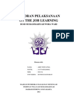 laporanpelaksanaanojlsampul-120127193125-phpapp01