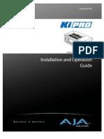 AJA Ki Pro Guide 3.0