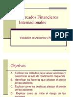 Valuacion Riesgo de Acciones