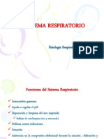 Sistema Respiratorio Clase 9