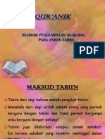 sejarahpenulisandanpembukuanal-quranzamantabiin-120214163552-phpapp01