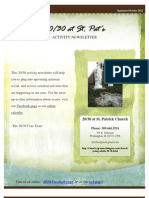 2030 Newsletter September October
