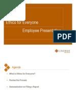 EFE Employee Presentation
