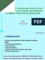 1- Penentuan Titik Sampling Emisi -Mei'2012