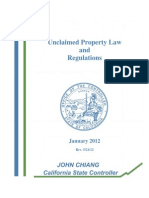 Unclaimed Property Law